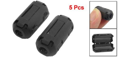 Gino UF-50B Clip On Noise Suppressor 5mm Cable Ferrite Core Filters (a12071000ux1058)