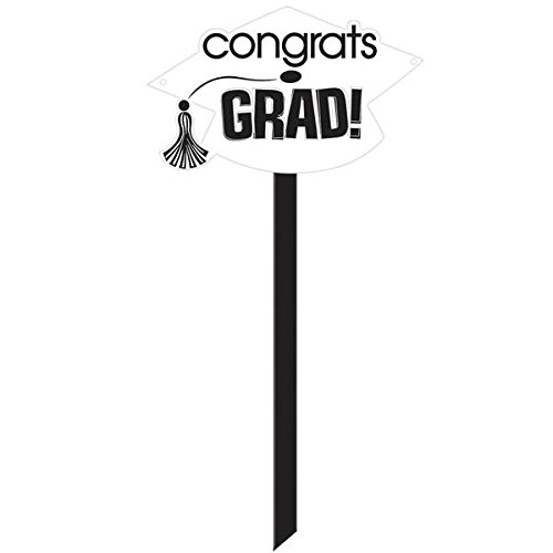 Congrats Grad Yard Sign - 4