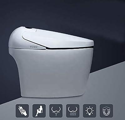 Cascada Luxury Smart WiFi Control Multi-function Toilet for Hotels/Apartments - Ceramic body
