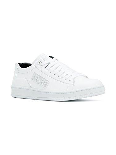 Kenzo Sneakers Uomo F005SN127L501 Pelle Bianco Comprar Descuentos Económicos M5Msz3vLr