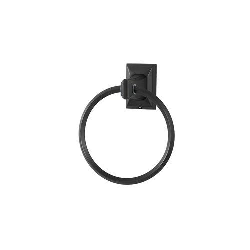 (Bronze) Alno A7940-BRZ Geometric Towel Ring B001KTV1KI ブロンズ ブロンズ