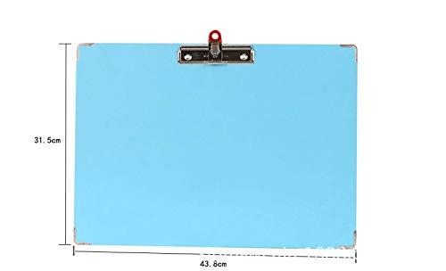 colore: blu con foro per appenderlo Cartellina portadocumenti in plastica formato A3