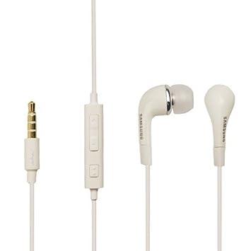 f68a588b44d Samsung GENUINE EHS64AVFWE Headset in White Galaxy Fame: Amazon.co.uk:  Electronics