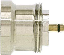 Verl/ängerung M30 x 1,5 30 mm f/ür Thermostat Unterteile Heimeier Spindel