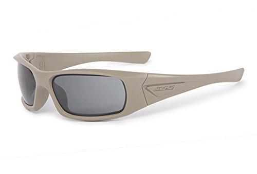 ESS Sunglasses 5B Terrain Tan with Smoke Gray Universal Lens (Womens Tan Sunglasses)