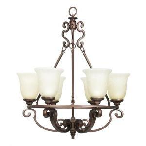 Home Decorators Collection Fairview 6-light Heritage Bronze Chandelier