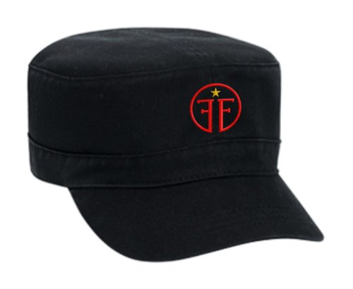 f60fd4119 Fringe Division Embroidered Military Style Cap - Black - Buy Online in UAE.  | Apparel Products in the UAE - See Prices, Reviews and Free Delivery in  Dubai, ...