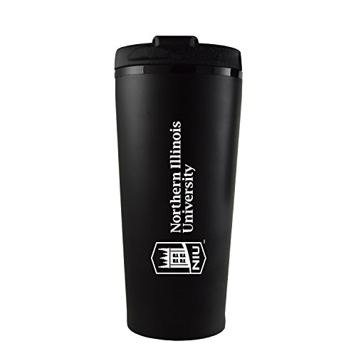 Northern Illinois University -16 oz. Travel Mug Tumbler-Black