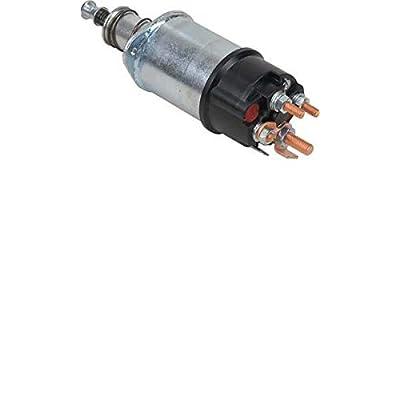 New Solenoid, Compatible with 12V, 5 Terminals, Intermittent, International Harvester, LucAs, MAssey Ferguson / TOB137, TOB123, TOB125, TPB137, 77004, 60933077, 60933074, 77115, 76997, TOB175, 77089: Automotive