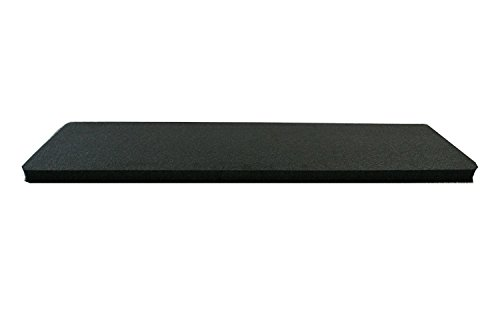 1 Piece of Middle Pelican 1750 Upgraded 2lb cross link black polyethylene foam