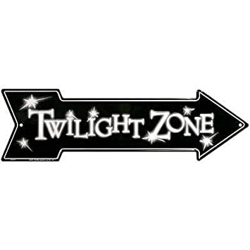 The Twilight Zone Tin Sign by Poster Revolution