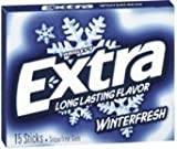 extra gum winter fresh - Extra Sugar Free Chewing Gum Winter Fresh 15 Sticks Pack by Extra