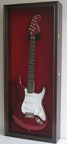 Eléctrico/Fender guitarra pantalla funda armario perchero de pared ...