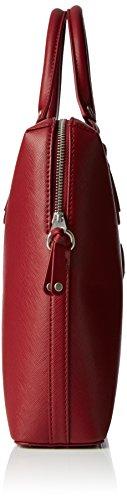 Sansibar Sansibar Chic - Bolso de mano de material sintético mujer Rojo (Merlot)