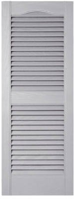 Builders Edge 010140039030 Pair Of 15 x 39-Inch Paintable Louvered Shutters - Quantity 5