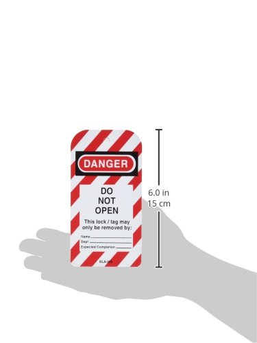 Honeywell ELA255/1 Lockout Tag,''Do Not Open'' (Pack of 25) by Honeywell (Image #3)