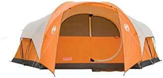 Coleman Bayside 8-Person Tent – Orange