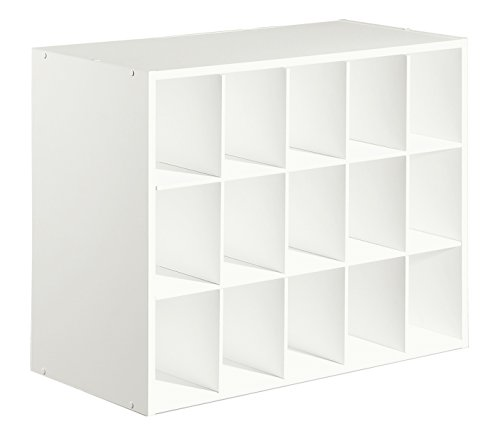 15-Cube Organizer, White (15 Organizer Cube)