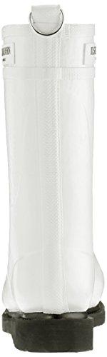 Ilse Jacobsen Damen 3/4 Gummistiefel, RUB15 - Botas Cortas de Agua Para Mujer blanco (blanco)