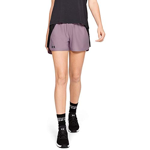 (Under Armour Women's Play Up Shorts 2.0, Purple Prime (521)/Black, Small)