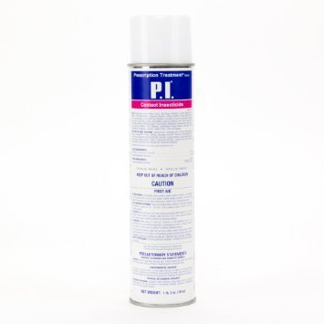 P I Contact Insecticide with pyrethrin (12 cans) by BASF