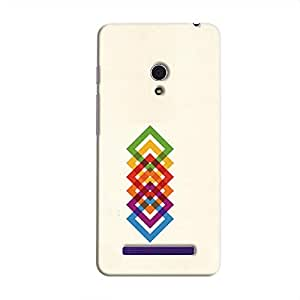 Cover it up Square Colors Hard Case for Asus Zenfone 6 - Multi Color