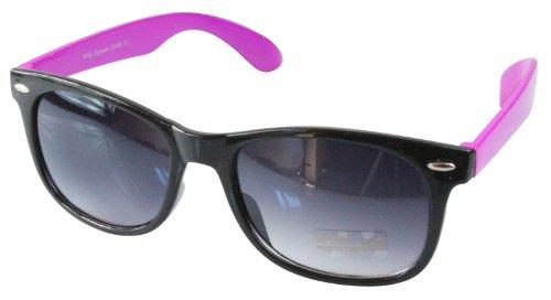 retro Noir 80's style soleil monture de Pink Wayfarer differentes couleurs Lunettes x4IAqA