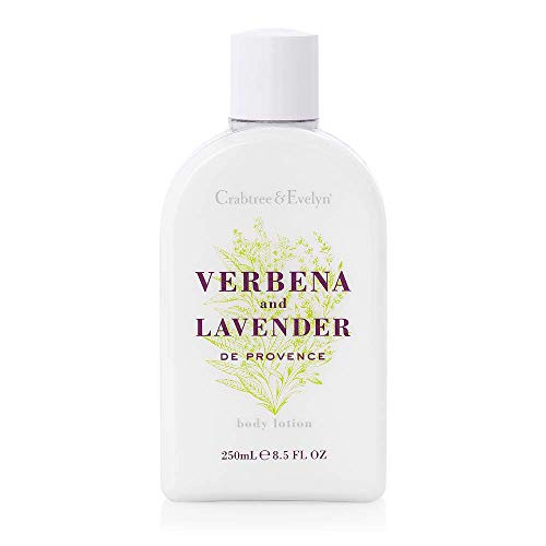 Crabtree & Evelyn Body Lotion, Verbena and Lavender de Provence, 8.5 Fl -