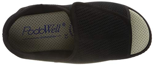 Abville Mixte Chaussons Podowell 7325010 Adulte Bas Schwarz 8RqUwnfW