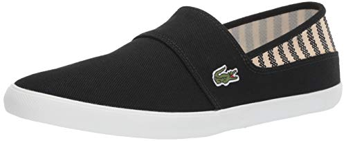 Lacoste Men's Marice Sneaker, black/off white, 8.5 Medium US