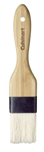 Cuisinart GreenGourmet Bamboo Basting Brush 1 Safe for nonstick cookware Natural oil finish Made from bamboo, a renewable resource
