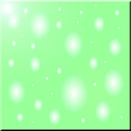 Rikki Knight Glassy Blue Circles Design Ceramic Art Tile 6 x 6