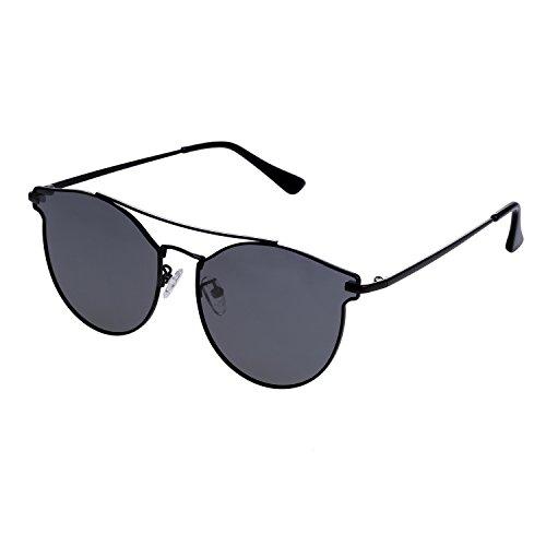 Women's Cateye Polarized Sunglasses From SunDecker, Designer UV Protection - 2018 Trend Sunglasses