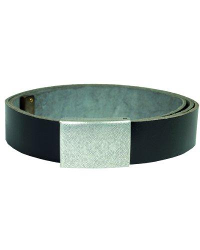 BW Hosengürtel Leder schwarz Gr.100