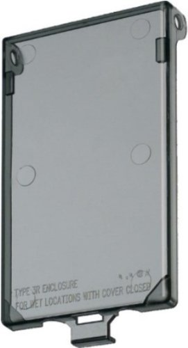 Arlington DBVC 1 Vertical Recessed Electrical Box Replacement Cover For Inbox