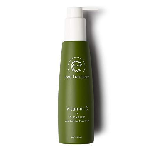 Eve Hansen Dermatologist Tested Vitamin C Face Wash - Premium, Fragrance Free Skin Care, Hypoallergenic Gel Face Cleanser | Blackhead Remover and Pore Minimizer | 6 oz