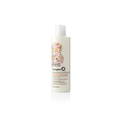 Briogeo Blossom & Bloom Ginseng + Biotin Volumizing Conditioner (250ml) (Pack of 4) by Briogeo