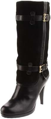 Cole Haan Women's Kennedy Boot,Black/Black Suede,7 B US