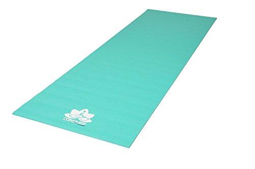 Conquer 1 4 Deluxe Yoga Mat Non-Slip High Density PVC, Vibrant Colors