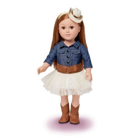 "My Life As 18"" Cowgirl Doll, Red Hair"