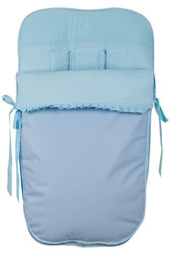 Babyline Plumeti - Saco de silla de paseo, color azul celeste: Amazon.es: Bebé