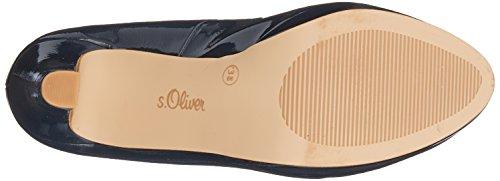 S.oliver Damen 22410 Pompen Blau (navy Patent)