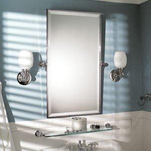 Motiv 0142-ORB City 212 - 20'' x 36'' Framed Pivoting Mirror - 0142,Oil Rubbed (Framed Pivoting Mirror)