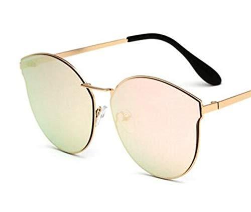de las de Huyizhi libre decoración de de gafas sol mujeres al de los Gafas UV400 la protección conducción aire para las manera de de hombres Guay Golden de la la viajar sol la para aZanWz8O