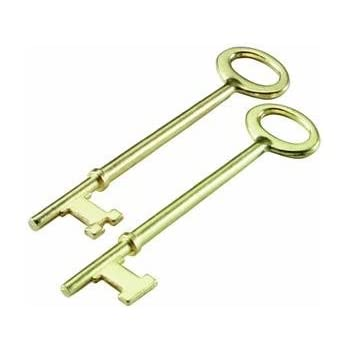 Ultra hardware 44609 2 1 4 brass old time mortise - Standard interior door replacement key ...