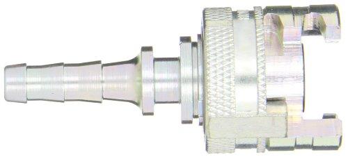 Dixon Valve 4PS3 Steel Thor Interchange Pneumatic Fitting, Socket, 1/2'' Coupler x 3/8'' Hose ID Barbed by Dixon Valve & Coupling (Image #2)