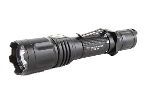 Lightstar TT5R-EX Magnetic USB Rechargeable Police and Military Flashlight, 885 TLF-0052-00