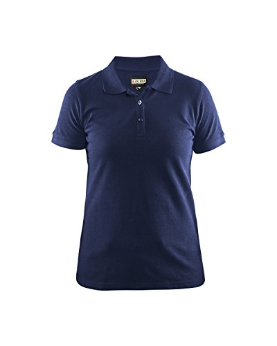 Blaklader 330710358800XS Women Polo Shirt, Size XS, Navy ...
