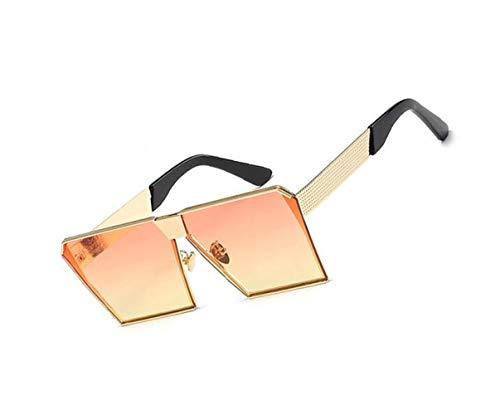 UV400 conducir de Gafas sol Square Orange libre moda para hombres de viajar ciclismo sol protectoras gafas para de al aire los unisex de Frame Eyewear TqfxO6wPxE