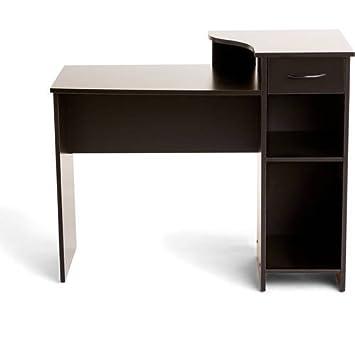 Bon Mainstays Student Desk, Multiple Finishes (Blackwood)